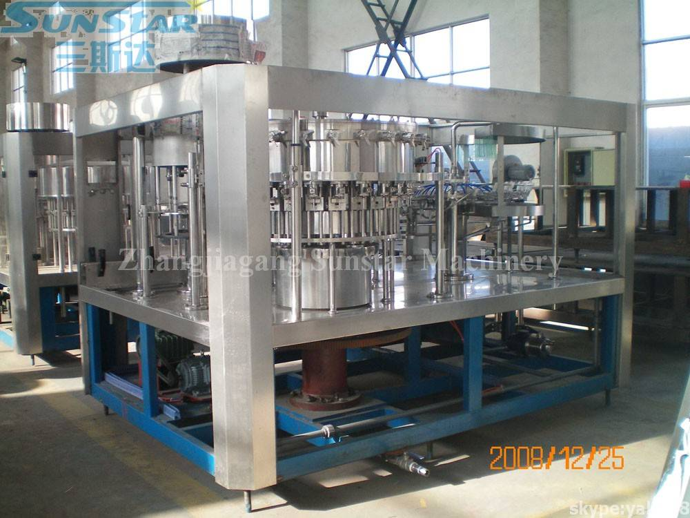CO2 Drink Filling Packing Machine(DCGF24-24-8)