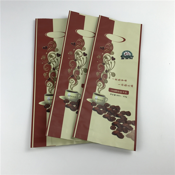 high quality hot sale kraft paper coffee bag