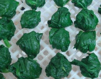 frozen spinach ball frozen vegetables 20-35g supply from factory in China