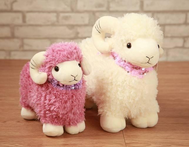 Stuffed Sheep Fabric Plush Toys