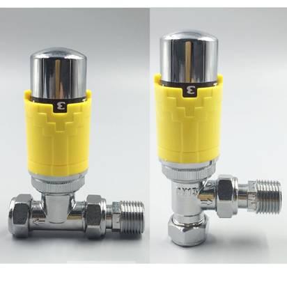 controller temperature for heating hvac system radiators