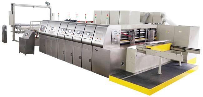Auto Flexo Printer Slotter Diecutter Auto Stacker(Bottom Printing )