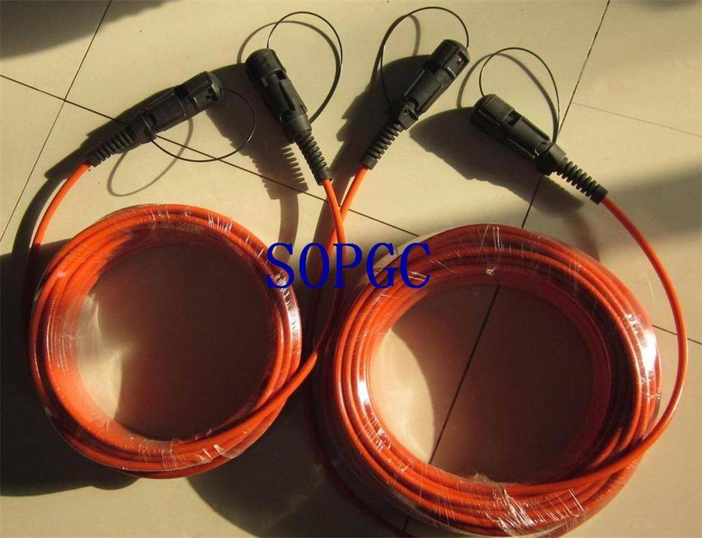 408UL Equivalent Seismic Cable End Section with FM4 Equivalent Plug