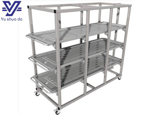 Mobile coprse rack