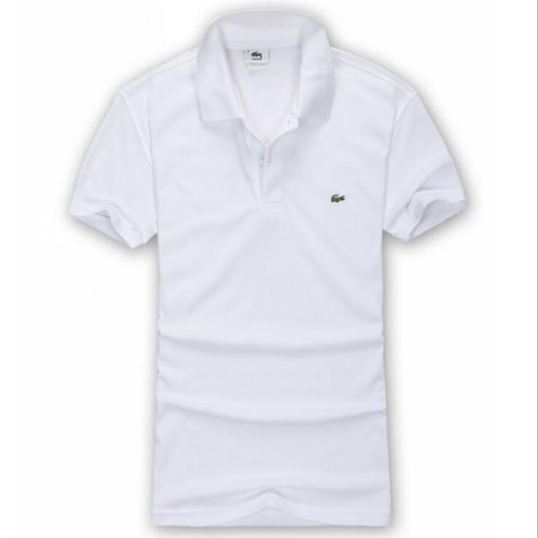 100% cotton OEM custom white plain Polo t shirt with pattern