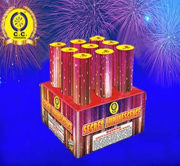 3'' 9 Shots Happy Cake Fireworks in Liuyang