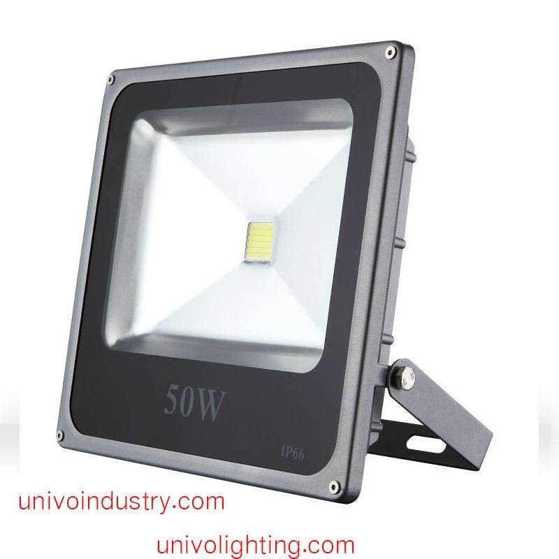 50W high lumens induction led floodlight outdoor CE/ROHS IP65 univo lighting