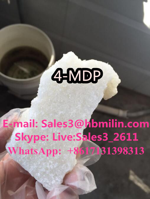 4-MPD White Crystal 4-Methylpentedrone Factory Price CAS NO.1373918-61-6 For Research Purposes