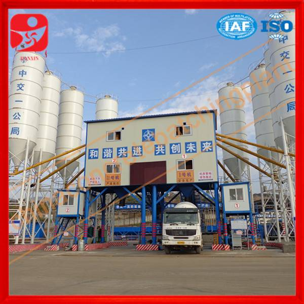 Direct factory top concrete batching plant