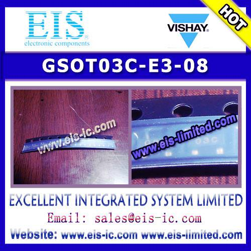 GSOT03C-E3-08 - VISHAY - Two-Line ESD-Protection in SOT-23