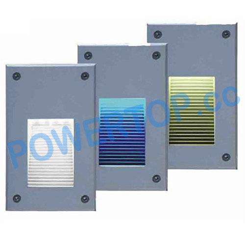 1.6W Recessed LED Wall Lamps