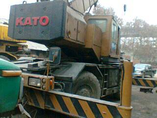 japan original kato used rough crane