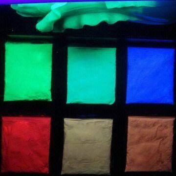 UV fluorescent pigment/ invisible powder