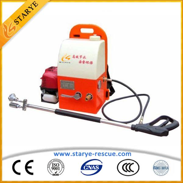 High Efficiently CE Standard Firefighting Equipment Backpack Water Mist Fire Extinguisher