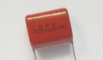 MPP capacitor film capacitor with high quality