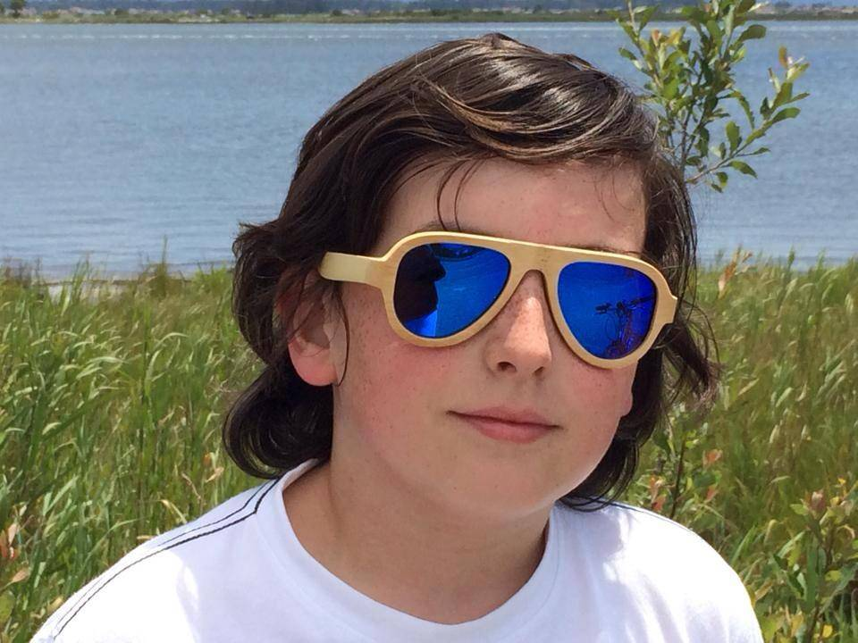 cheap hand crafted bamboo sunglasses