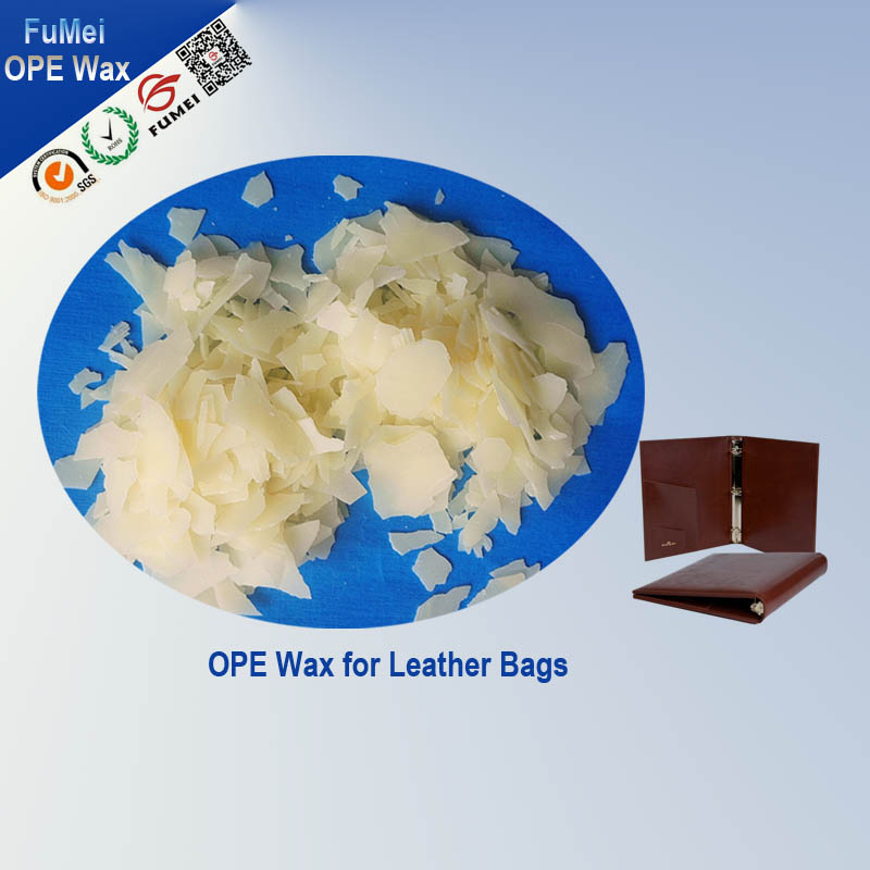 OPE Wax for leather process ,Lubricant agent, brightener agent