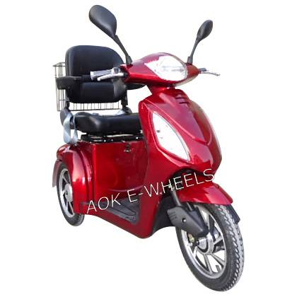 Hot Sale Disabled Electric Mobility Scooter with Deluxed Saddle