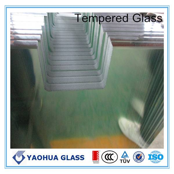 CE approved made in china tempered glass