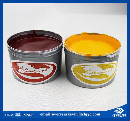 CMYK sublimation heat press ink for offset press