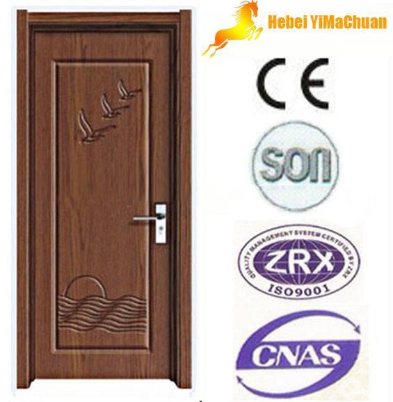 Solid wooden door hot sale in China