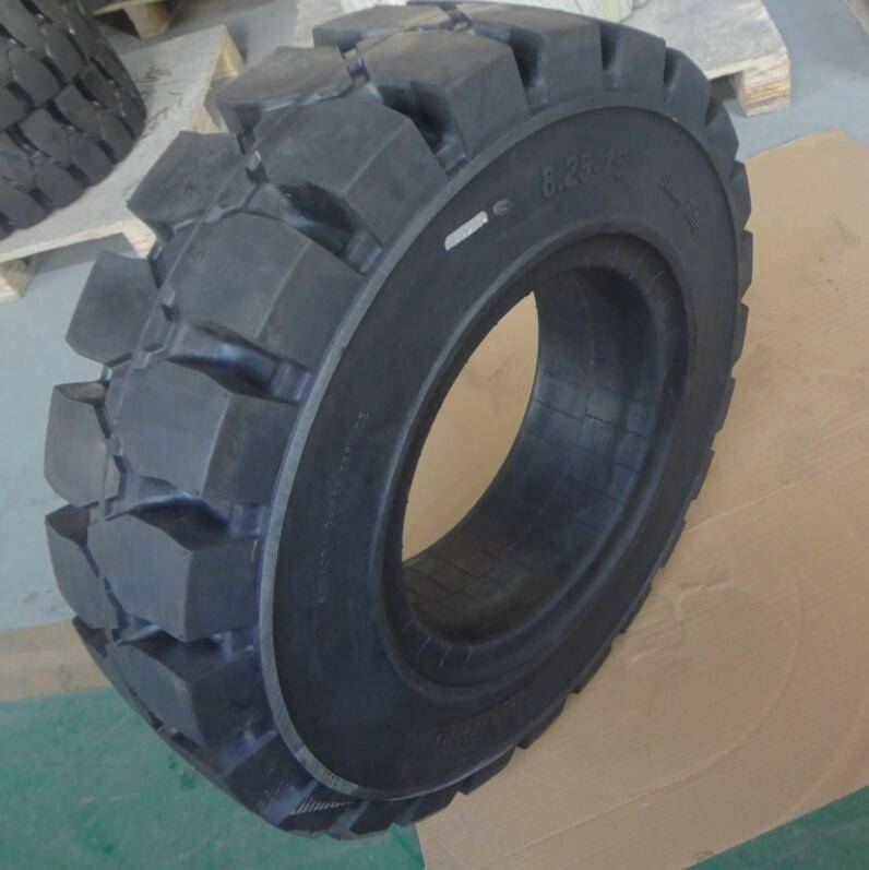 super soft solid tyre dump truck tire 8.25-15/6.50
