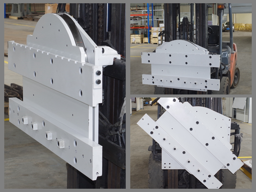 Rotators for forklift trucks