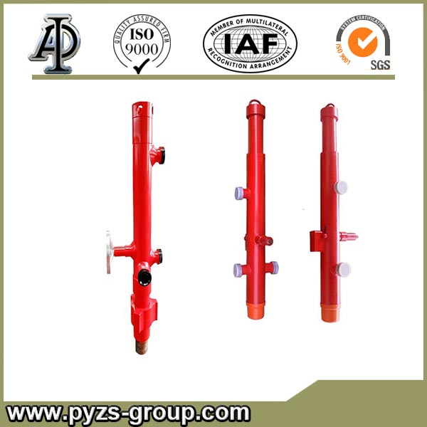 API 5CT drilling cementing head with quick-latch