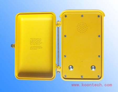 IP67 high standard Emergency telephonefor highway  handfree telephone knsp-04
