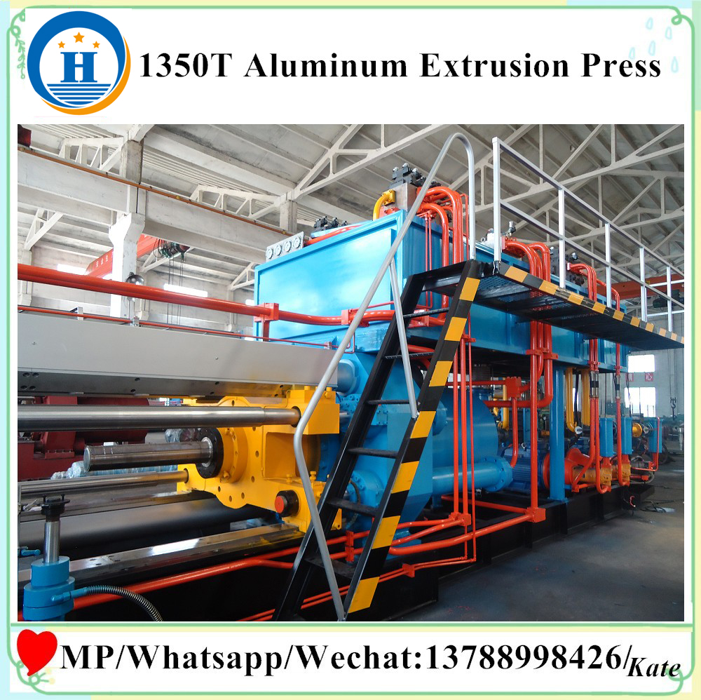 aluminum window press machine aluminum tube production line