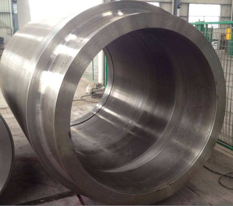 Forged steel roller-cylindrical forging