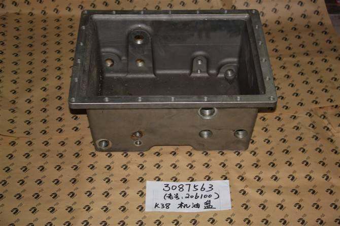 Cummins auto parts K38 3087563 pan ,oil