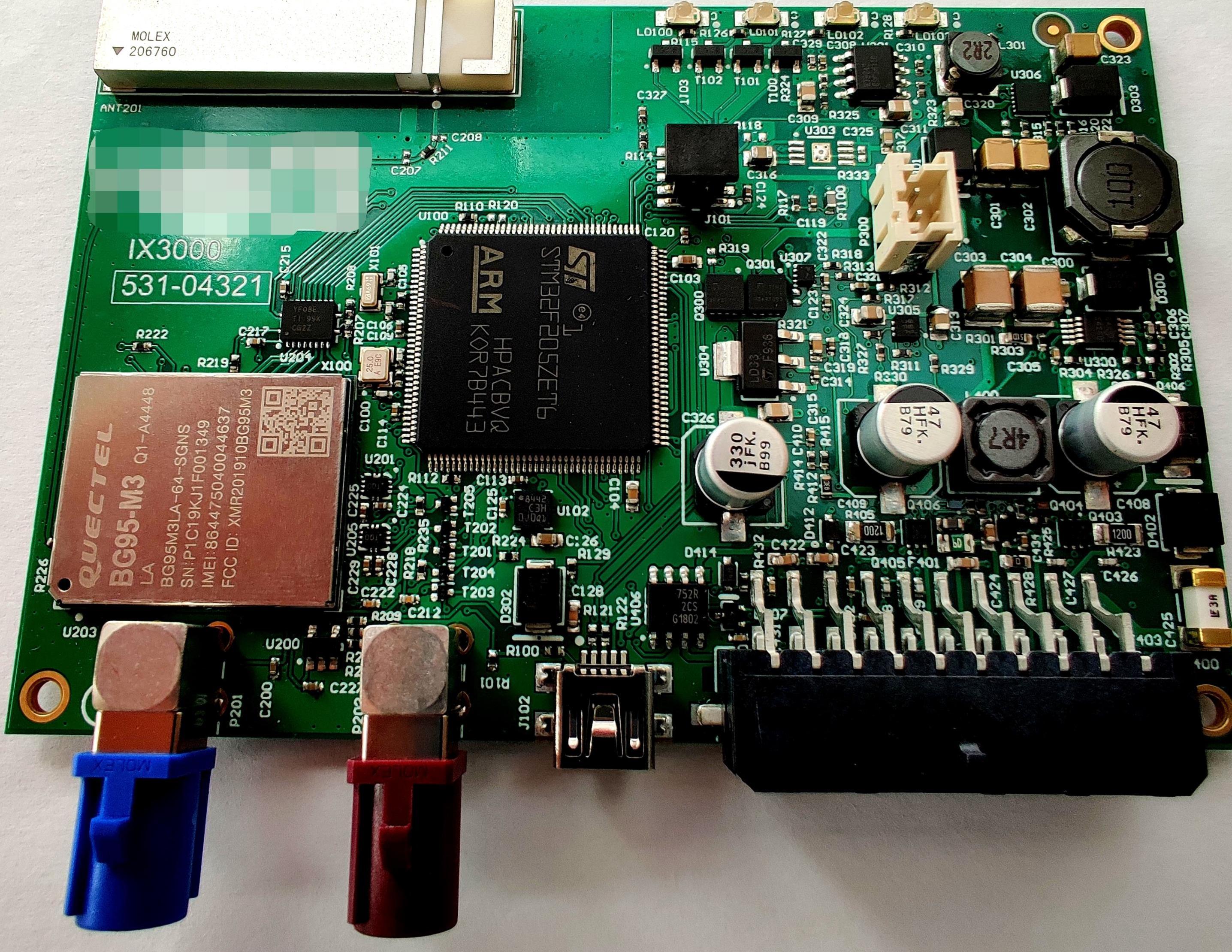 IX3000 PCB