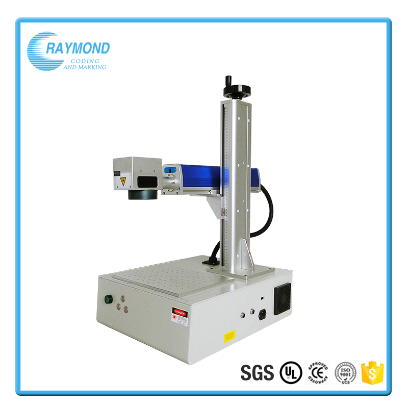 Portable 20w laser marking machine for steel parts and plastic