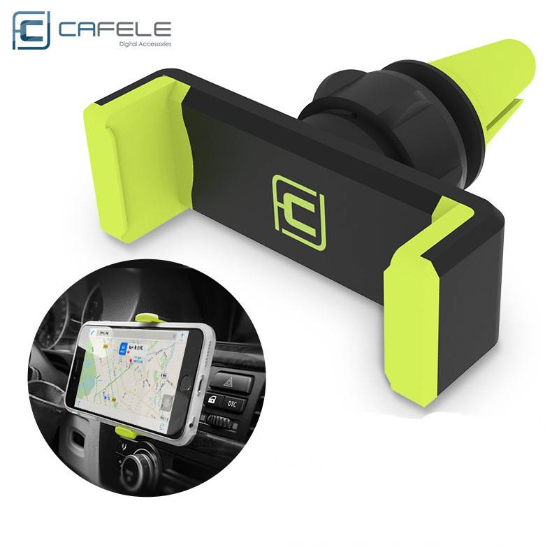 CAFELE universal multi function car air vent holder for 6 inch max mobile phone GPS 360 degree rotat