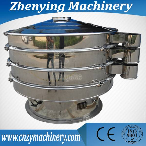 high frequency stainless steel rotary circular vibrating screen