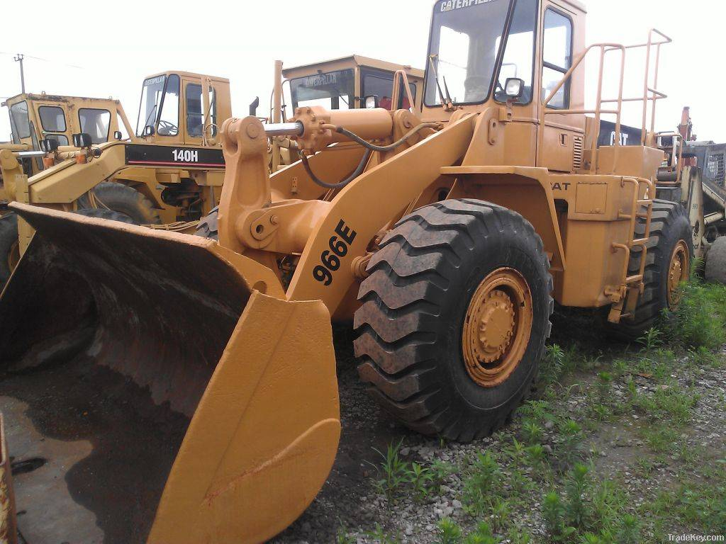 hot  Selling ,Used CAT 966E,original paint Used Wheel Loader,