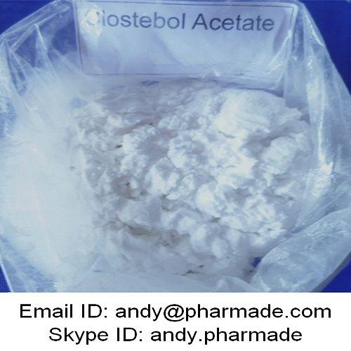99% USP BP Clostebol Acetate 4-Chlorotestosterone Acetate Powder Bodybuilding