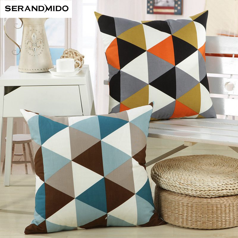 Modern Decorative Cushion Covers Cotton Linen Throw Pillows for Sofa Home Decoration Pillow Cover