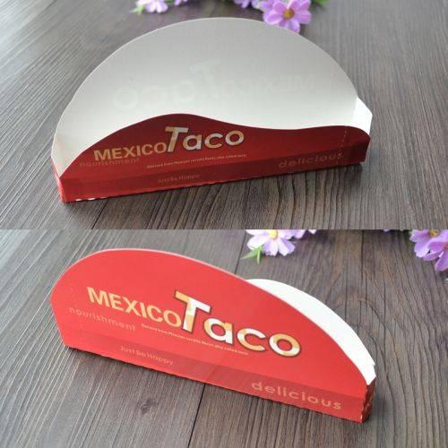 Custom Cheap Disposable Mexico Taco Holder