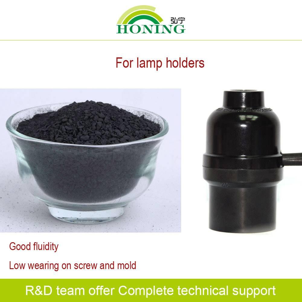 Compression Grade bakelite powder for Lamp Holders