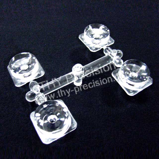 THY Precision,OEM, Micro Molding, Micro Optical Lens, transparent parts