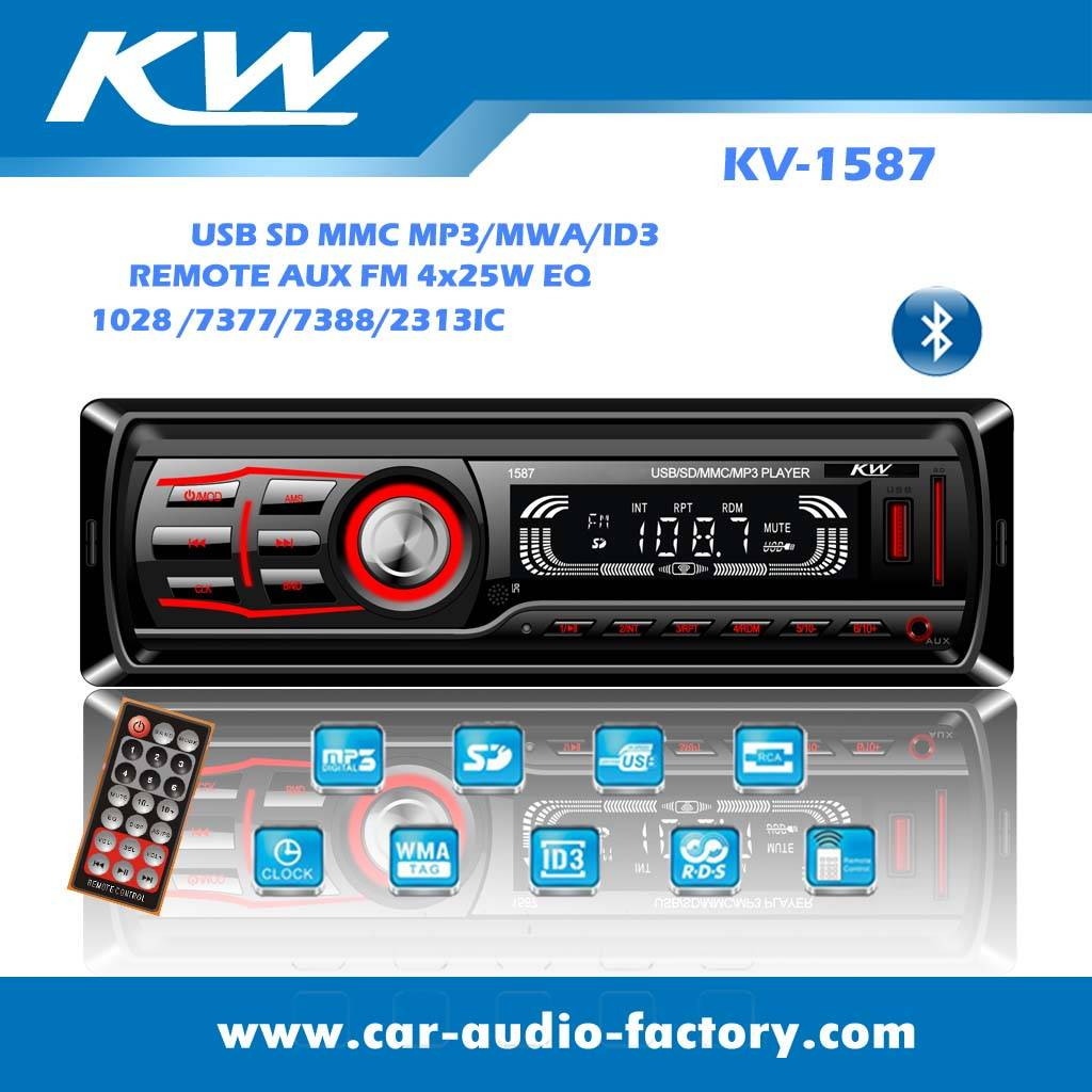 KV1587 Car audio MP3 player with ID3 WMA player
