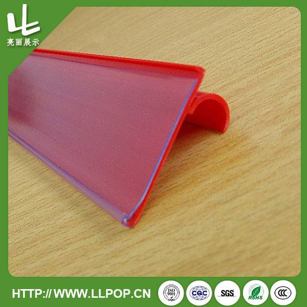 Colored Supermarket New Designed Price Tag Holder
