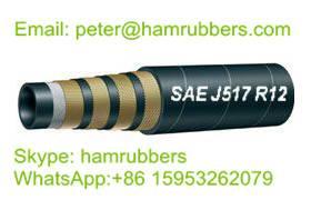 SAE 100R12 Wire Spiral Hydraulic Hose