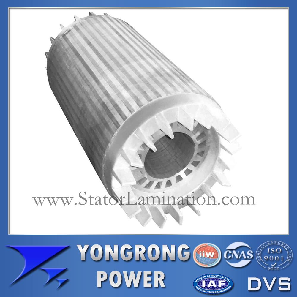 IE3 Premium Efficiency Electric Motor Die Cast Rotor Core