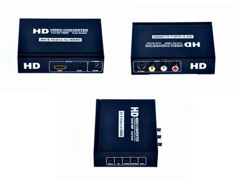 AV+S-video to HDMI