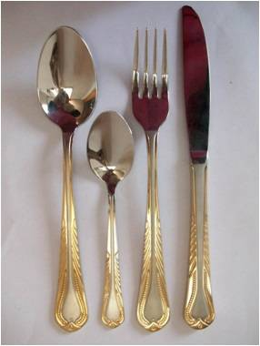 X003 Stainless steel tableware cutlery flatware