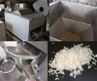 Electric blade peanut slitter machine for industry