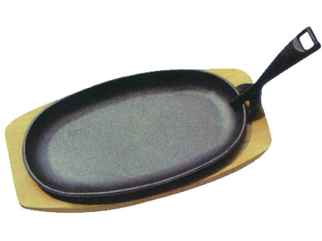 Promotional cast iron fry pan with handle